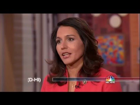 Congressman Tulsi Gabbard on Hillary Clinton's irresponsible support of regime change