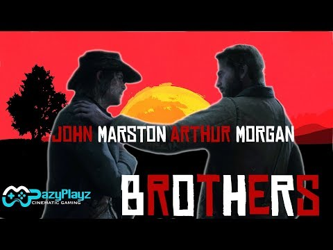 ARTHUR MORGAN & JOHN MARSTON // BROTHERS // Red Dead Redemption 2 // Tribute // (SPOILERS) [4K]