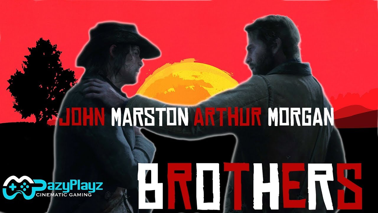 Arthur Morgan John Marston Brothers Red Dead Redemption 2 Tribute Spoilers 4k
