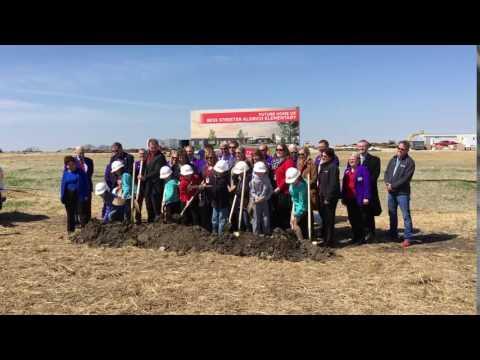Breaking Ground at Bess Streeter Aldrich Elementary!
