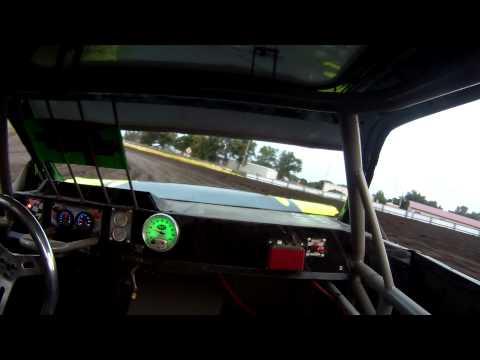 Mathias Lux-Rollover Buena Vista Raceway, Alta IA July 31st, 2014