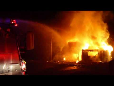 Hughes House Fire