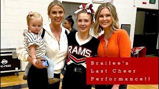 Brailee's Last Cheer Performance!!