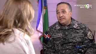 Interesante Entrevista al Director de la PN Ney Aldrin Bautista por Nuria Piera