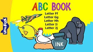 ABC Book F-J: Alphabets F-J Learn the letters F to J and their soun...