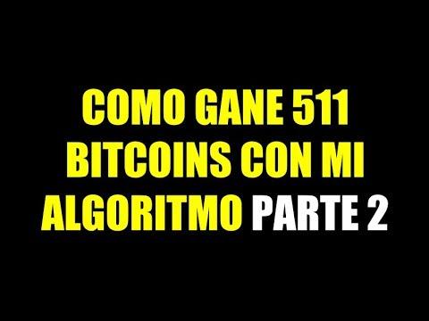 COMO GANE 1363 DOLARES EN BITCOIN EN 3 MINUTOS CON MI ALGORITMO AutomatiCoin.Trade