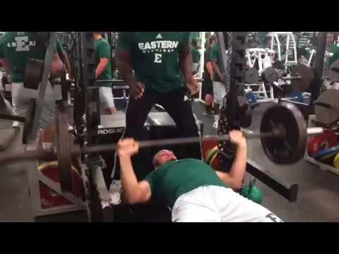 Brody Hoying 225 PR 14 Reps