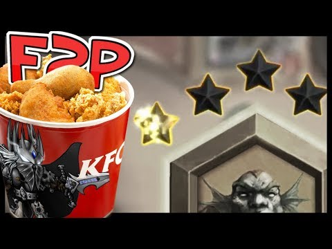 KFC F2P #17: We Can't Lose Stars at This Rank