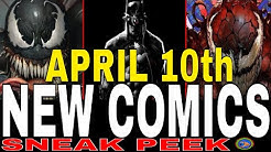 NEW COMIC BOOKS RELEASING APRIL 10th 2019 MARVEL AND DC COMICS COMING OUT THIS WEEK - WEEKLY PICKS -