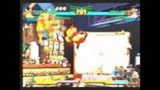 Marvel Super Heroes vs. Street Fighter PlayStation