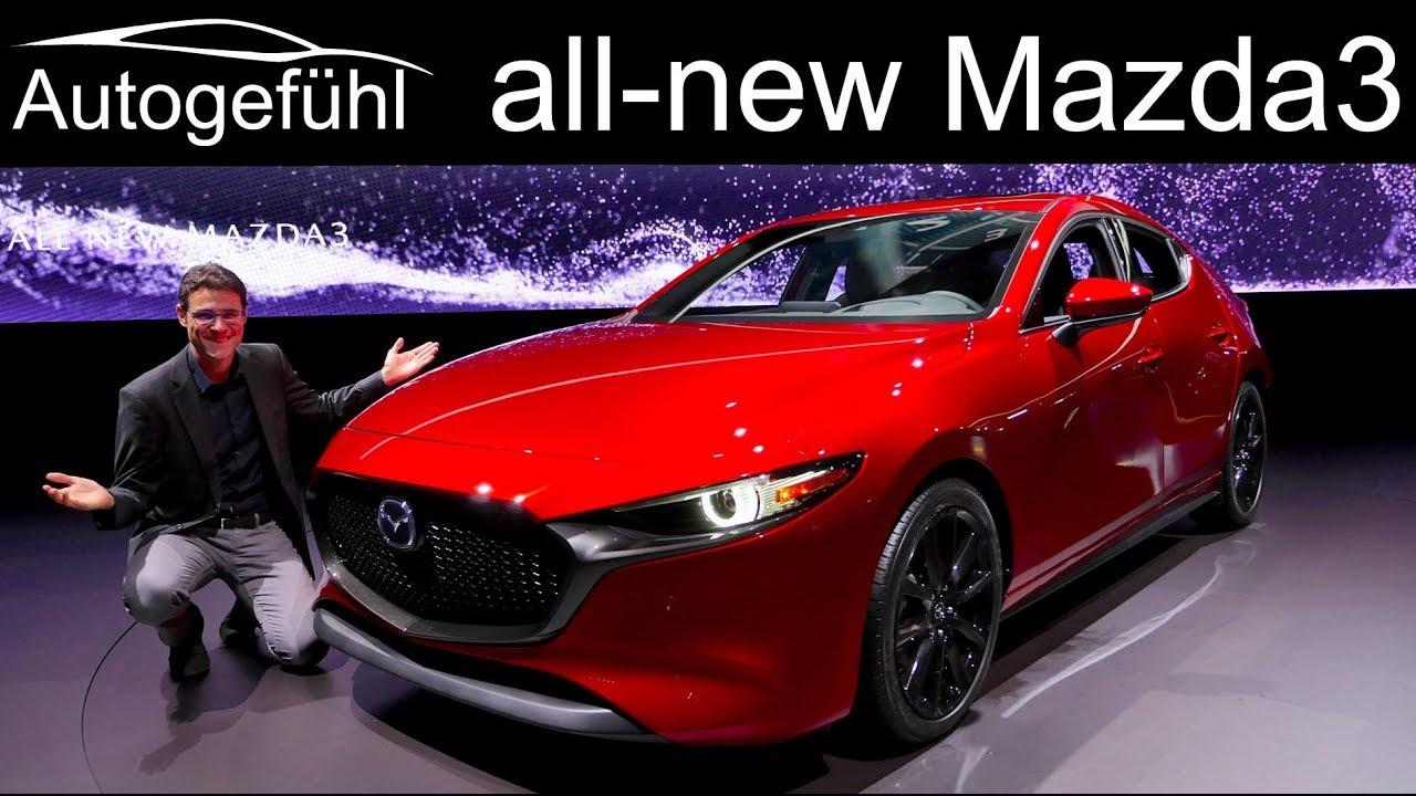 All New Mazda3 Review Exterior Interior Comparison Hatch Vs Sedan