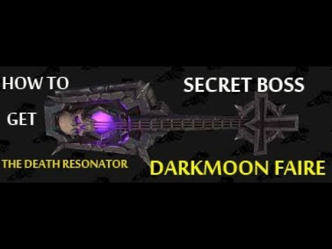 SECRET DARKMOON WOW BOSS! DEATH METAL KNIGHT! WORLD OF WARCRAFT!