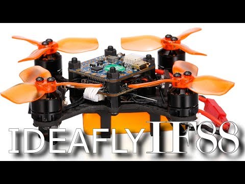 Ideafly IF88 - FPV Brushless Micro Drone -Full Review w/test flight