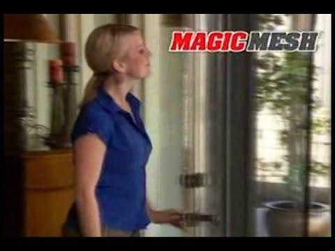 Magic Mesh As Seen On TV Commercial Magic Mesh As Seen On TV Screen Door As Seen On TV