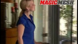Magic Mesh As Seen On TV Commercial Magic Mesh As Seen On TV Screen Door As Seen On TV