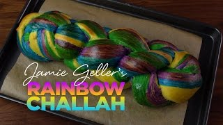 Rainbow Challah Bread  Challah Recipe