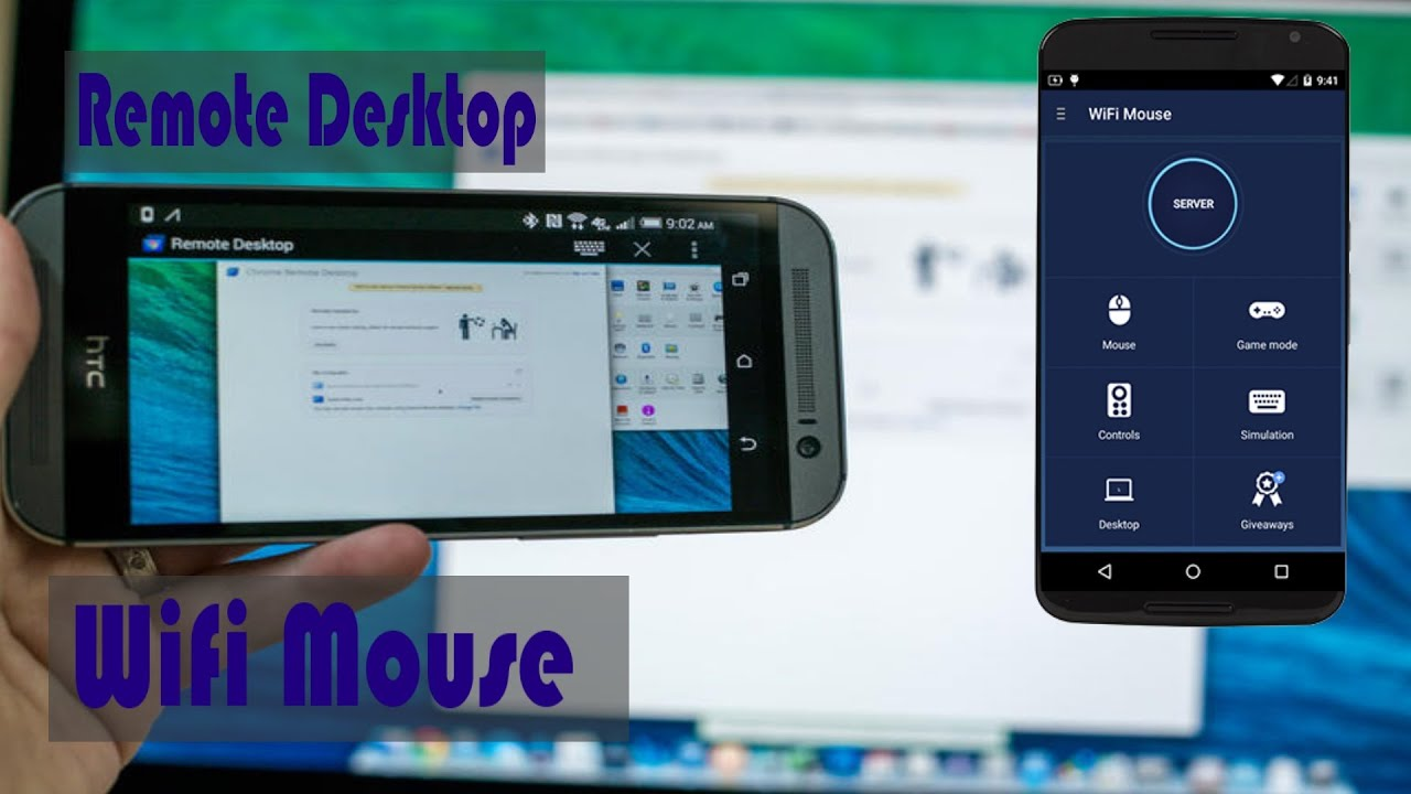 Controla Tu Android en Mouse, Teclado, Escritorio Remoto    Tutorial Wifi  Mouse