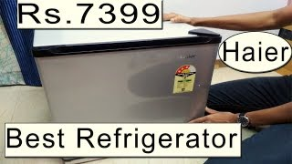 Best Mini Bar Refrigerator - Haier HR-62VS - Complete Review amp Unboxing