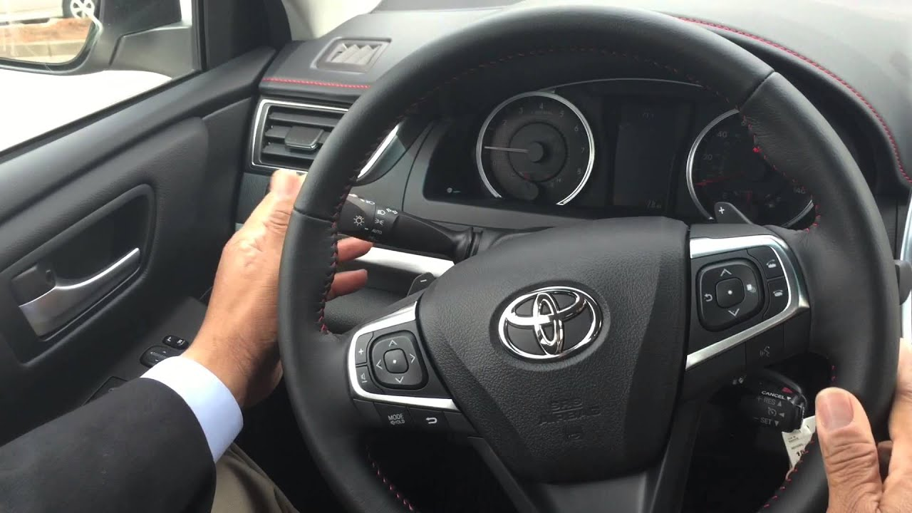 new 2015 toyota camry se presented by jimmy wilson at marietta