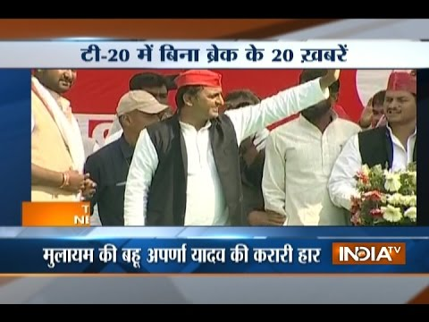 T 20 News | 12th March, 2017 ( Part 2 ) - India TV
