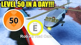 FASTEST WAY to LEVEL UP/EARN CASH FAST Winter Update Edition | Roblox Jailbreak