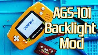 GameBoy Advance AGS-101 Screen Mod | Complete Tutorial