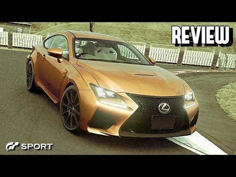 GT SPORT - Lexus RCF REVIEW