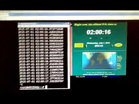 Leap second, 2015-06-30 23:59:60 UTC