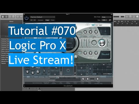 Logic Pro X | Live Stream - #70