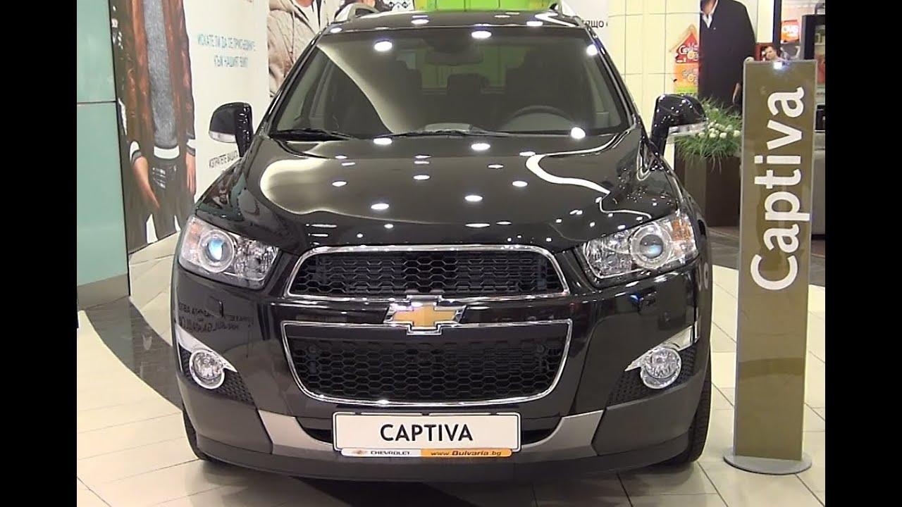 Chevrolet Captiva Ltz 4x4 2 2 Dohc 16v 184 Hp Exterior And Interior In Full Hd 3d