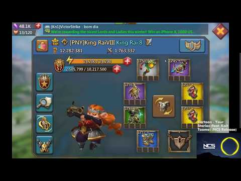 Lords Mobile: Hyper Farm Account