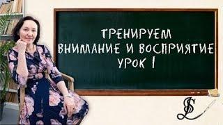 Шаг к успешному обучению. Урок 1. Развиваем восприятие, память, внимание