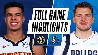 Game Recap: Nuggets 117, Mavericks 113