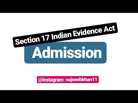 Download Admission Section 17 Indian Evidence Act
