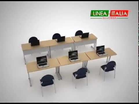1 escritorio m ltiples soluciones muebles para oficina for Muebles de oficina k y v