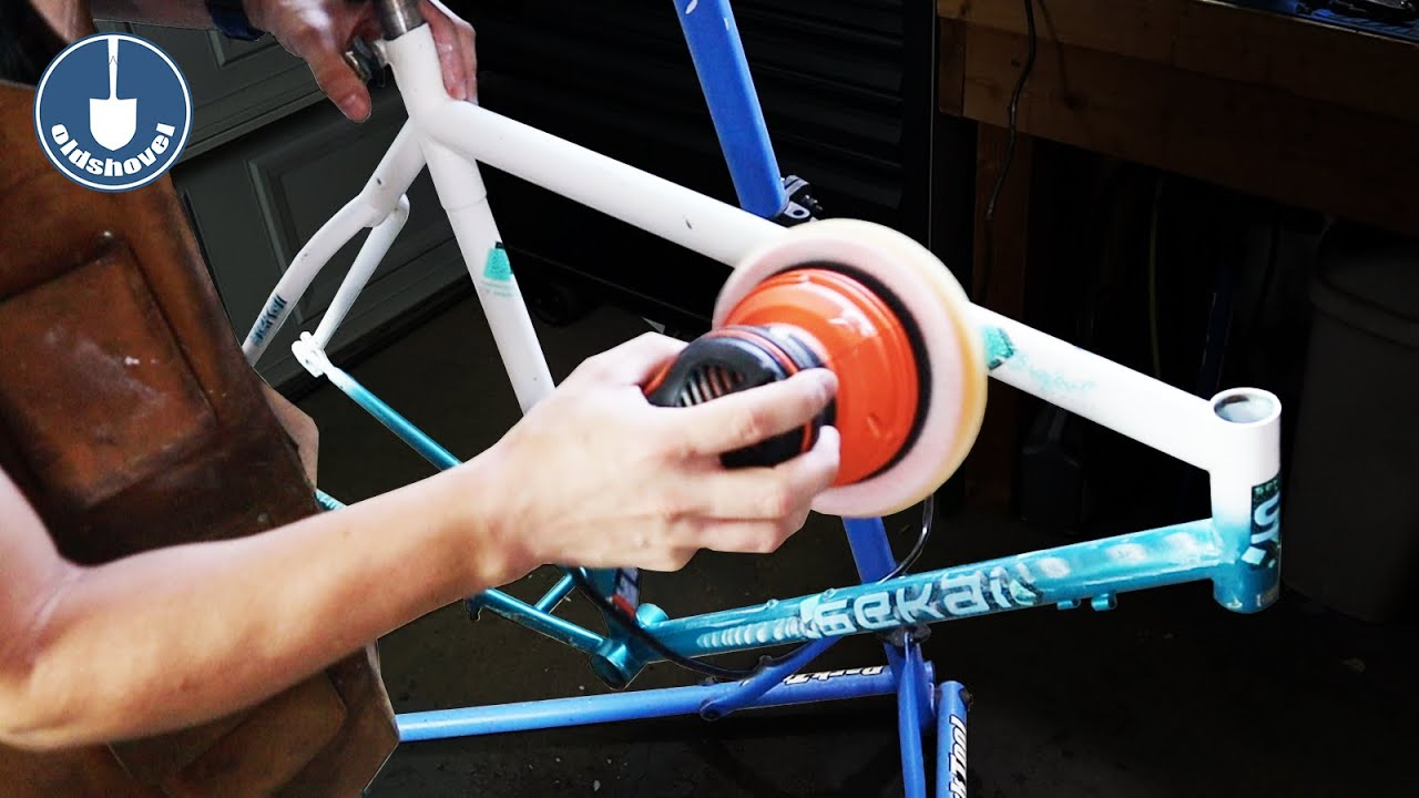 Restoring a Bike's Original Paint - Spindatt Style