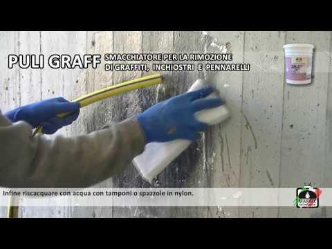 Come Rimuovere I Graffiti Pennarelli E Inchiostri Dai Muri Pareti