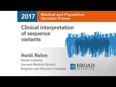 MPG Primer: Clinical interpretation of sequence variants (2017)
