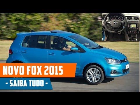 Novo Fox 2015 - Preço, Consumo, Ficha Técnica, Fotos, Avaliação e Interior