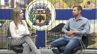 Fala Vereador com Leandro Lourençon - 28/08/2018