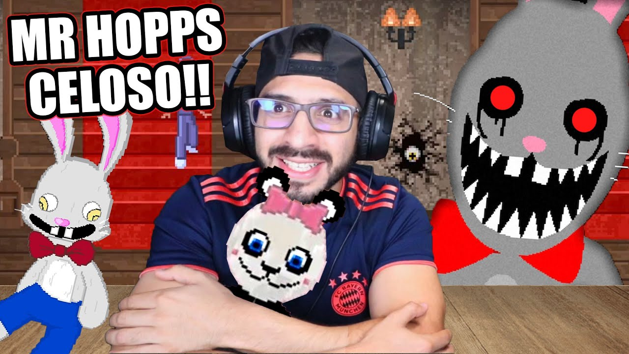 MR HOPPS ESTA CELOSO | Mr. Hopp's Playhouse 2 Capitulo 2 | Juegos Luky