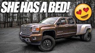 The Duramax Got A Bed!