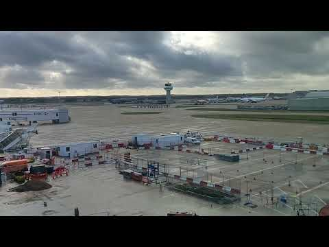 Gatwick Airport Drone 20th December 2018, view from North Terminal at 12:35pm, not seen it yet!