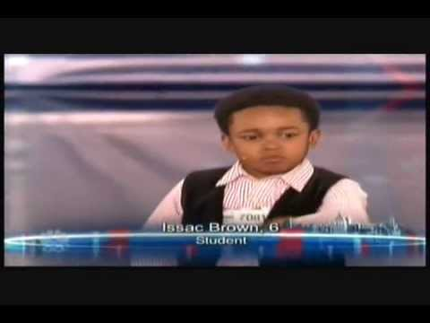 Issac Bryan Brown Cutest Act On America's Got Talent By Far (Full Audition)