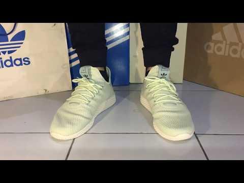 On Feet Adidas Pharrell Williams Tennis