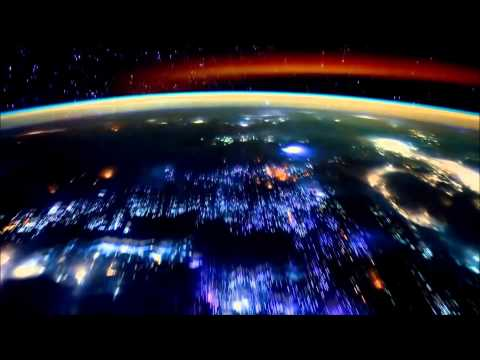 Planet earth from space (ISS) (M83- Outro)