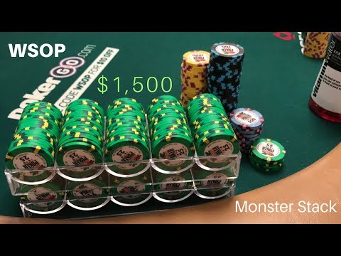 Heaps of Hands From the Monster Stack and Mickey's Parents in Town - Poker Vlog #35