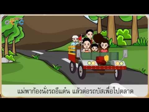 สื่อการสอนภาษาไทย ป.2 - เที่ยวท่องร้านหนังสือ
