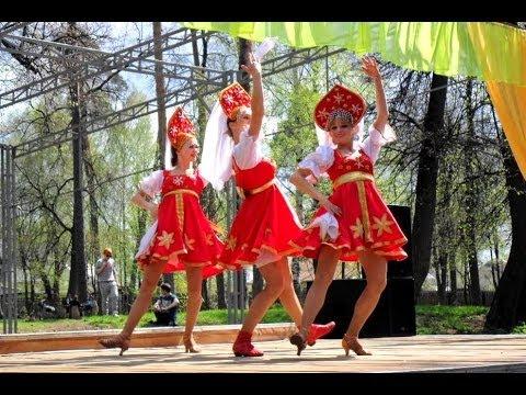 Праздник весны / Русский-народный танец. Танцевальное шоу \