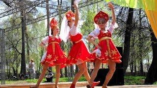 Праздник весны / Русский-народный танец. Танцевальное шоу
